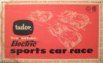 Tudor Electric Auto Racing on 00000   1959 Electric Sports Car Race  Model 530  Game Tudor   3 9 95